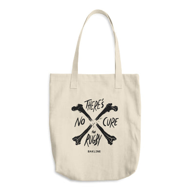No Cure for Rugby Tote - Bakline