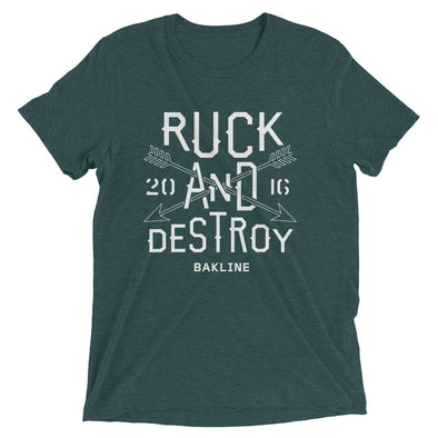 Ruck and Destroy Slim Fit Tee