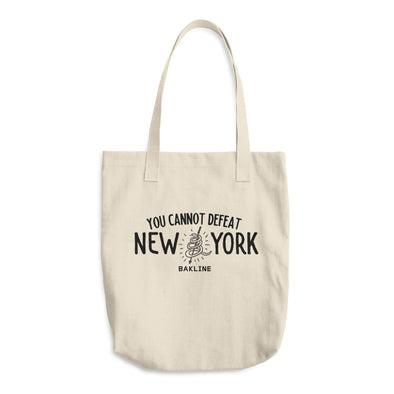 You Cannot Defeat New York Tote