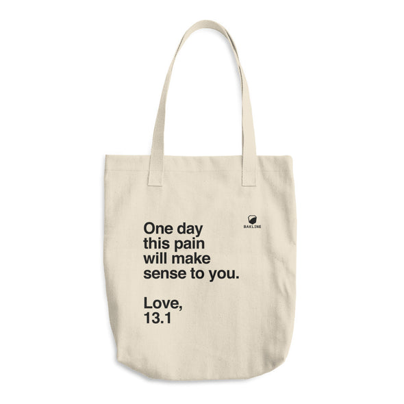 One Day, Love 13.1 Tote