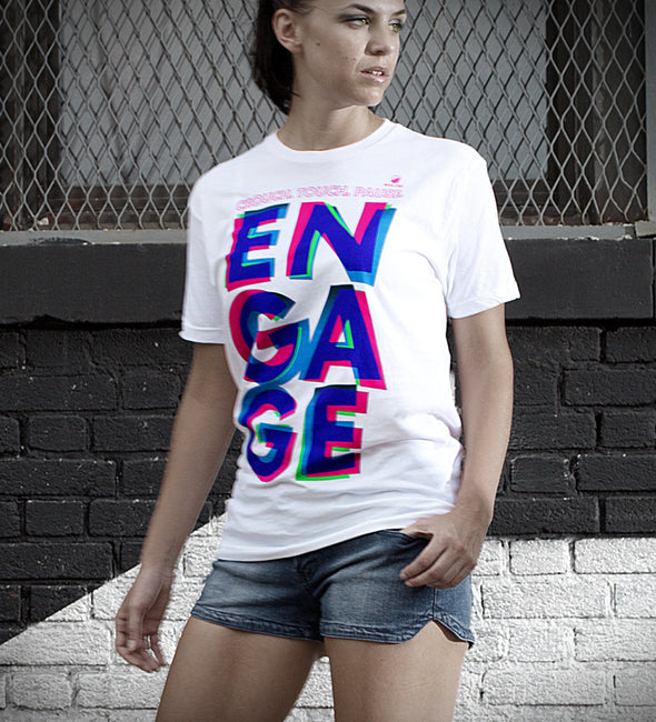 Engage - Cotton Tee - Unisex - Bakline