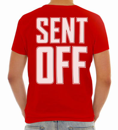 Sent Off - Cotton Tee - Unisex - Bakline