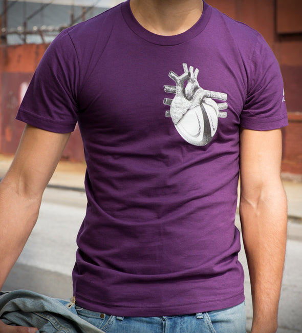 Heart of Rugby - Cotton Tee - Unisex - Bakline