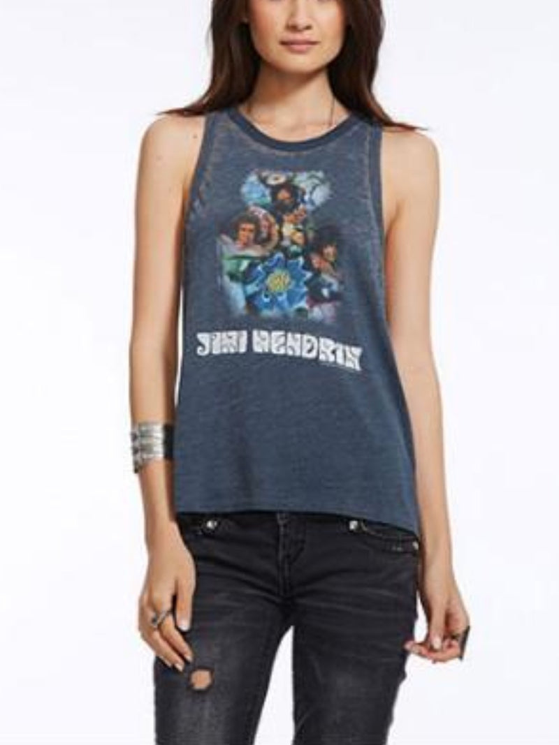 Chaser Rock & Roll USA Deep Armhole Tank