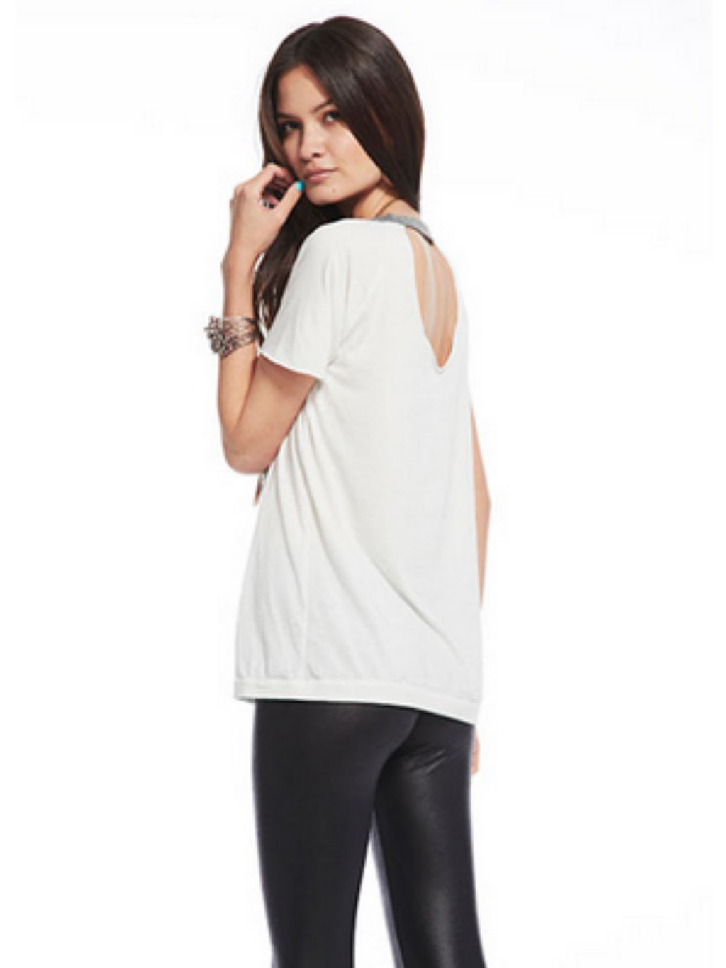 Chaser Open Back Raglan