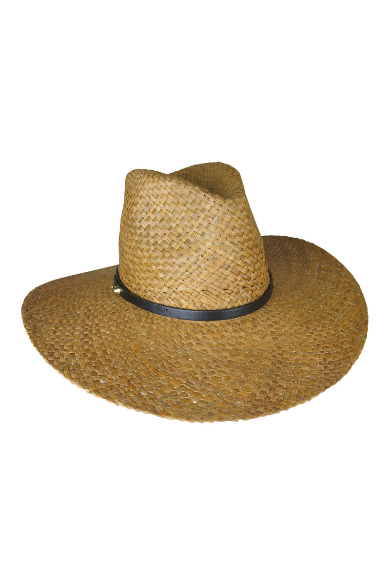 Ace of Something Straw Diaz Fedora