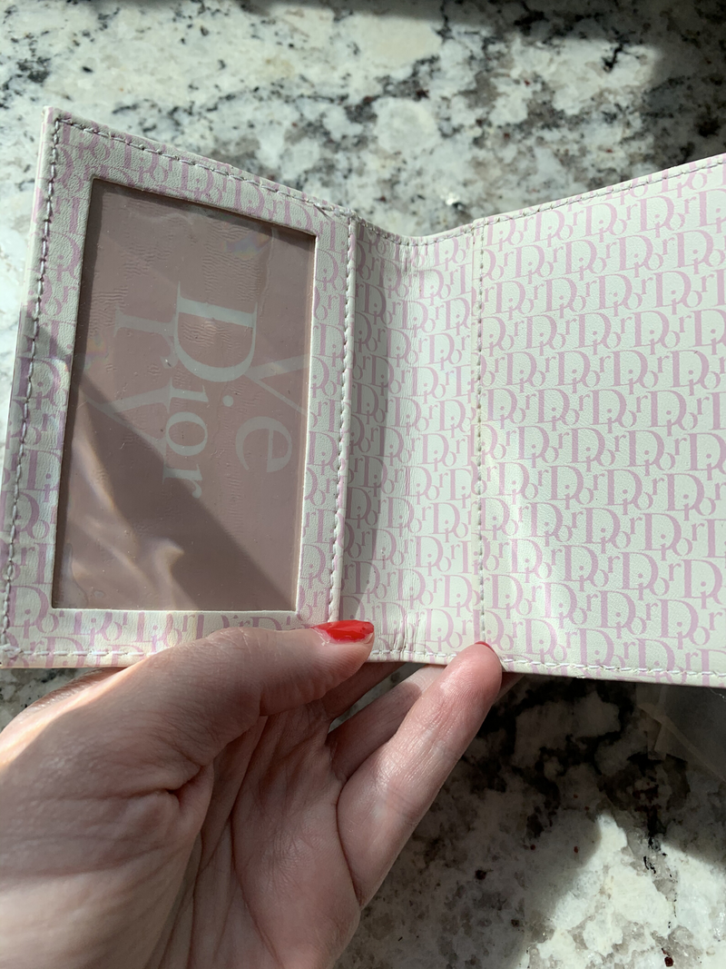 Pre-Loved Dior Beauty Credit Card Wallet