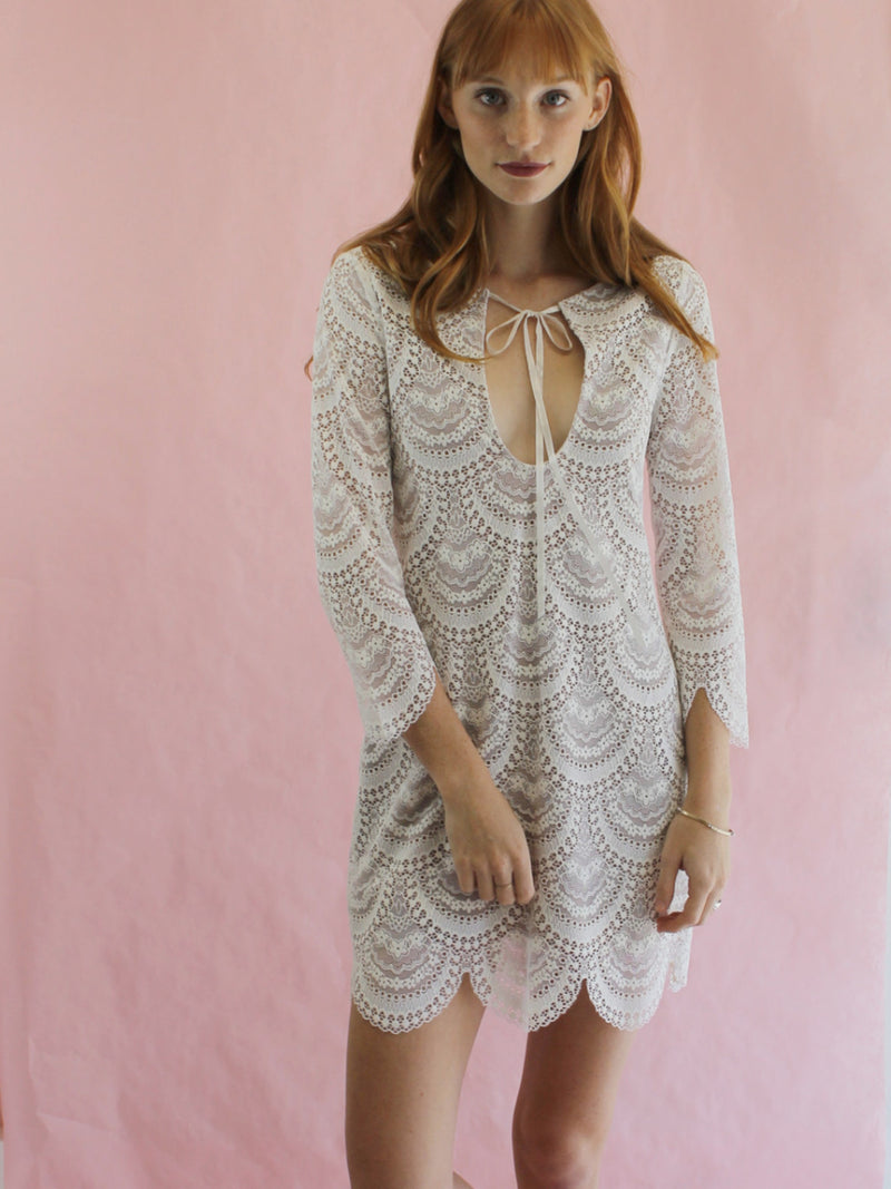Cleobella Radial Bali Lace Mini Dress