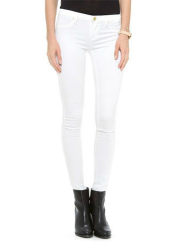 Blank NYC Skinny Spray On Jeans in White Lines