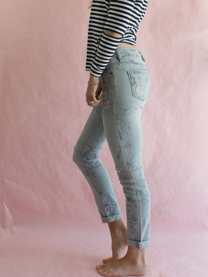 Blank NYC Stick Shift Jeans Redondo Print