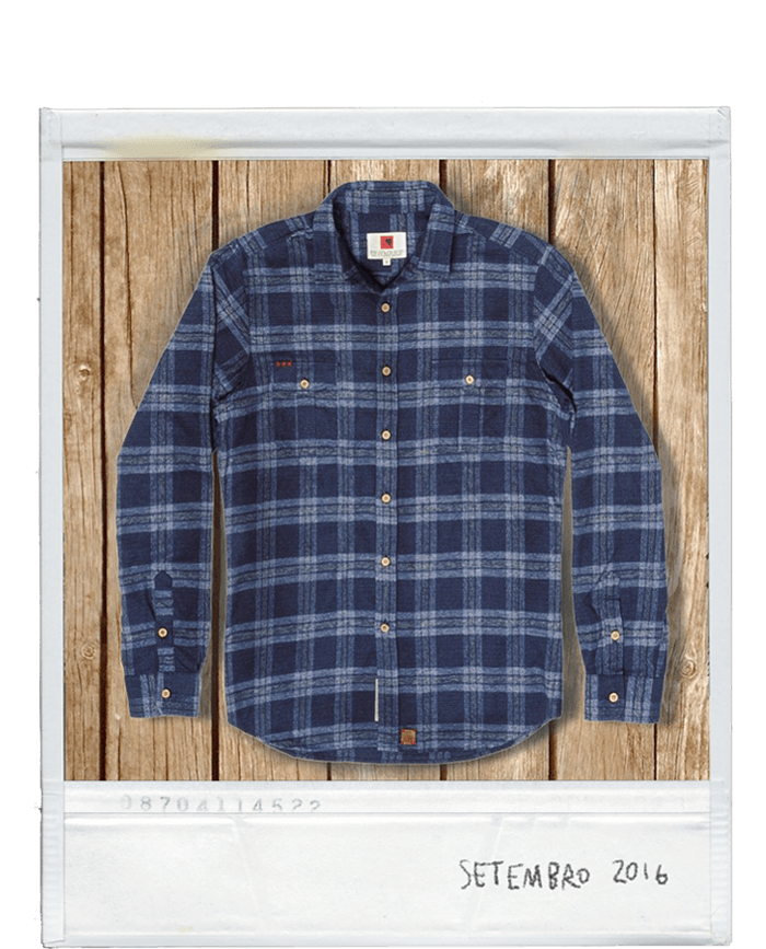 Our Shirts | Indagatio | Aquila chrysaetos flannel shirt | www.indagatiostore.com