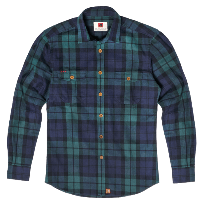 Our Shirts | Indagatio | Vulpes vulpes flannel shirt jacket | www.indagatiostore.com