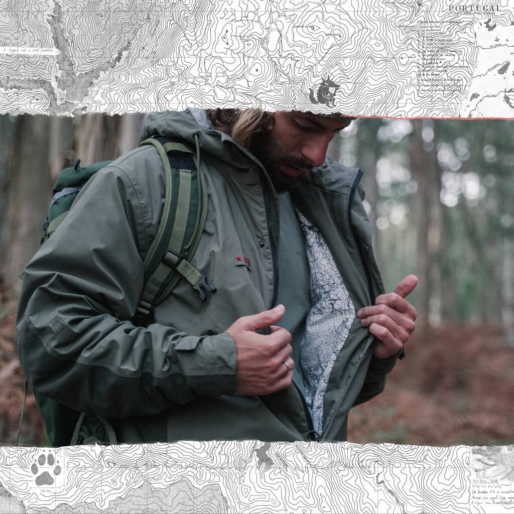 Jacket Canis lupus signatus 3L waterproof. Welcome to the wolfpack. #poraifamily