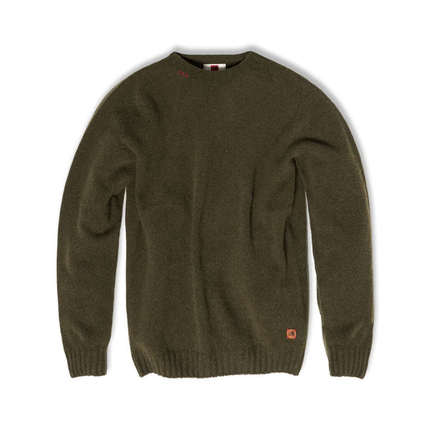 Felis silvestris wool green sweater | Indagatio