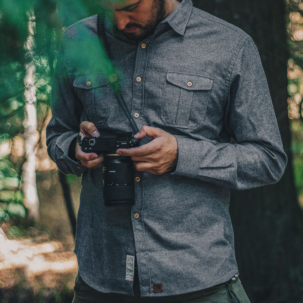 Aquila chrysaetos flannel shirt