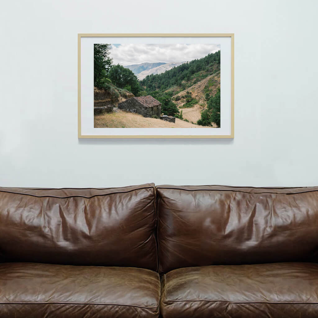 Shepherd's house photography art print | Indagatio
