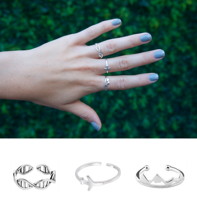3pc ring bundle - 70% off