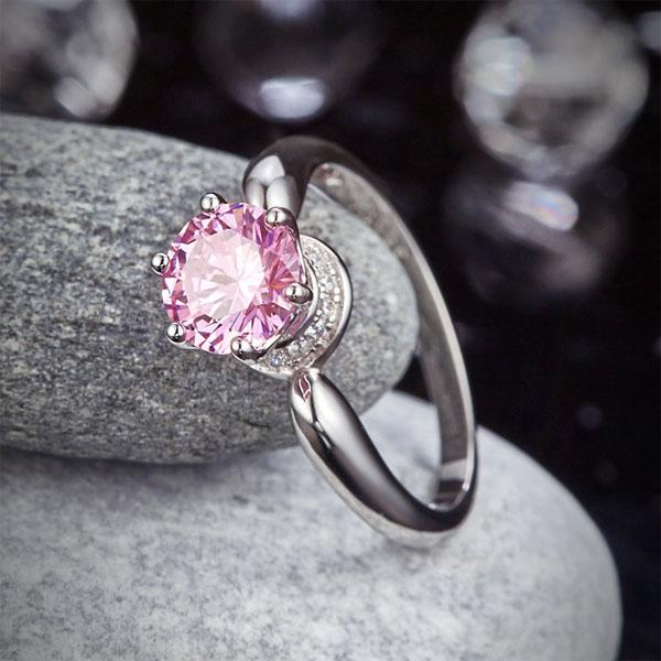 """Pink Sweet Promises"" Engagement Ring"