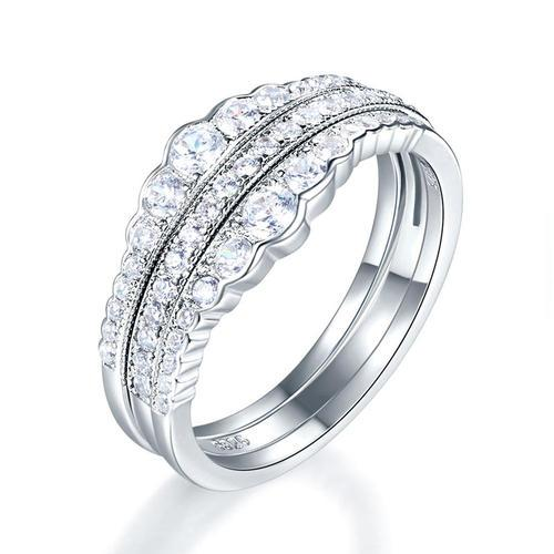 Gorgeous Royale 3 pc Ring