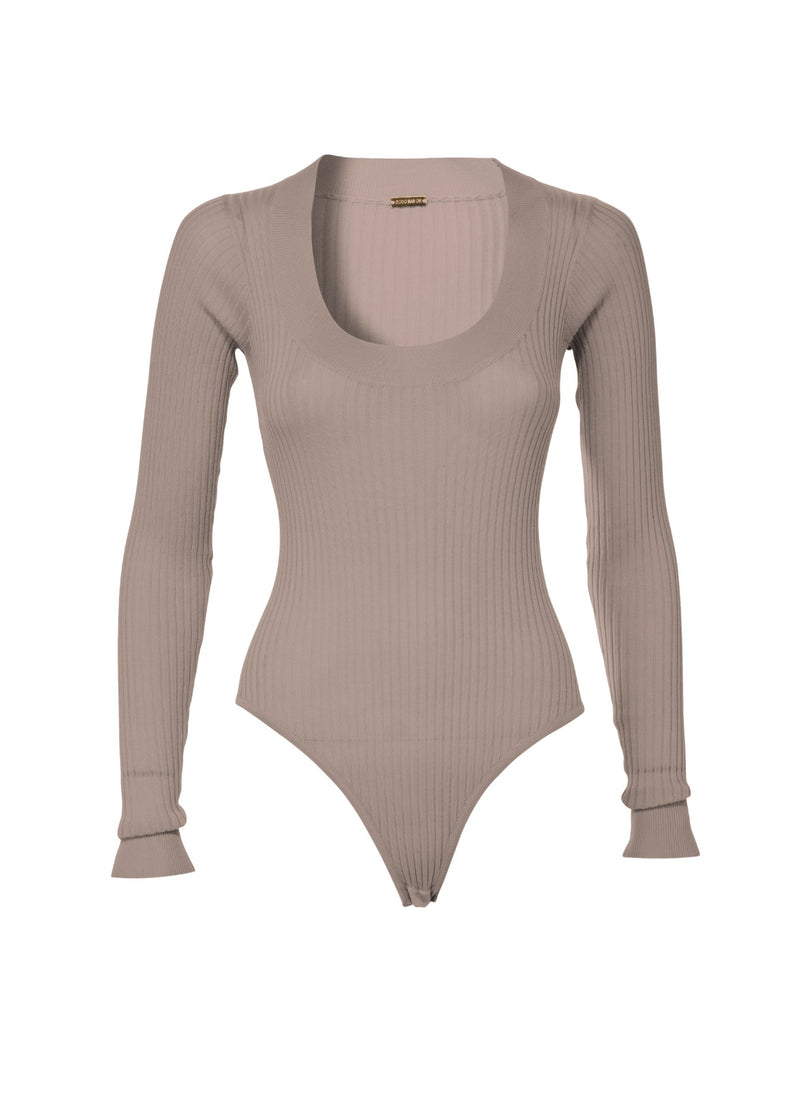 Teddy V Knit Bodysuit