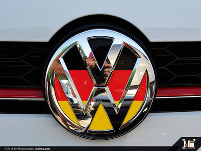 VW Front Badge Insert - German Flag