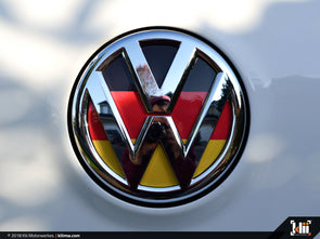 VW Rear Badge Insert - German Flag