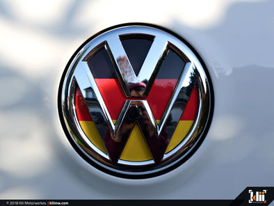 Klii Motorwerkes VW Rear Badge Insert - German Flag