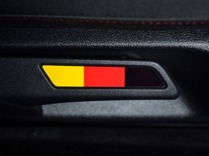 VW Seat Lever Insert Set - German Flag