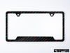 BMW Premium License Plate Frame - M Rain (Black) (Silver)