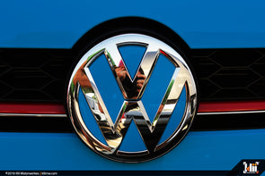 VW Front Badge Insert - Cornflower Blue *PRESALE*