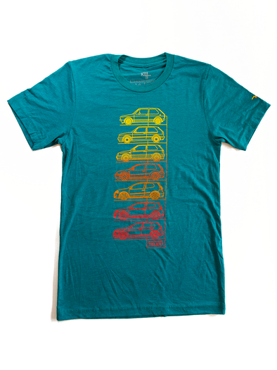 Klii Motorwerkes GTI Generational Talent Tee - Teal