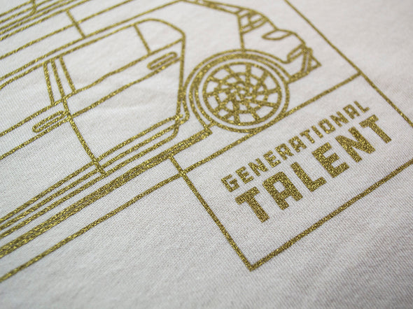R Generational Talent Tee - Natural