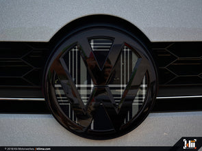 VW Front Badge Insert - Mk7 GTD Plaid