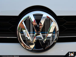 VW Front Badge Insert - Mk7 Blue Plaid