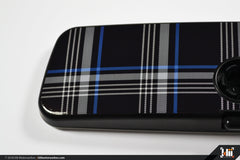 VW Rear View Mirror Overlay - MkVII (Mk7) TDI Plaid