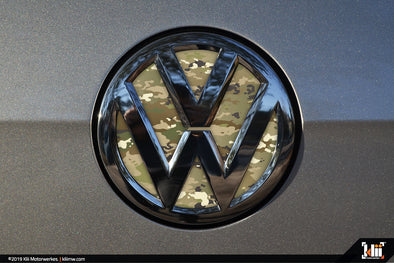 Klii Motorwerkes VW Rear Badge Insert - OCP Camo