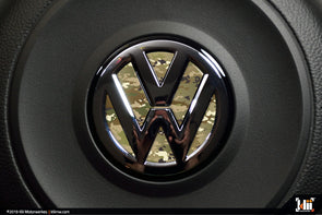 VW Steering Wheel Badge Insert - OCP Camo
