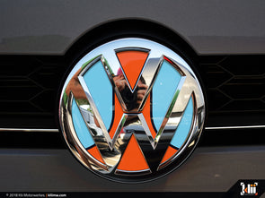 VW Front Badge Insert - Racing Livery No.1