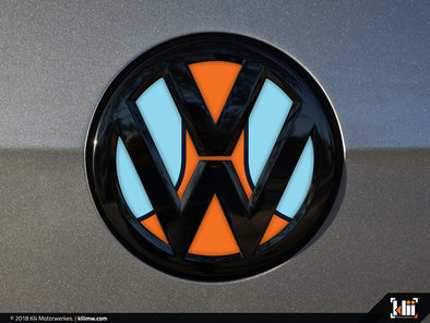 Klii Motorwerkes VW Rear Badge Insert - Racing Livery No.1