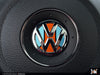 VW Steering Wheel Badge Insert - Racing Livery No.1