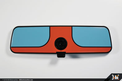 Klii Motorwerkes VW Rear View Mirror Overlay - Racing Livery No.1