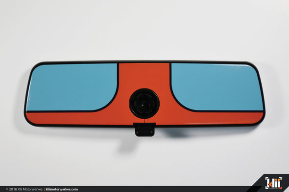 VW Rear View Mirror Overlay - Racing Livery No.1