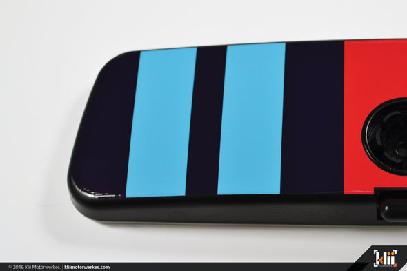VW Rear View Mirror Overlay - Racing Livery No.2