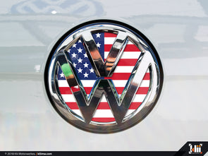 Klii Motorwerkes VW Rear Badge Insert - American Flag