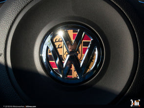 Klii Motorwerkes VW Steering Wheel Badge Insert - Stuttgart