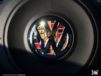 VW Steering Wheel Badge Insert - Stuttgart