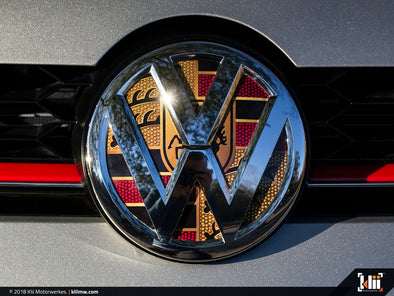 VW Front Badge Insert - Stuttgart