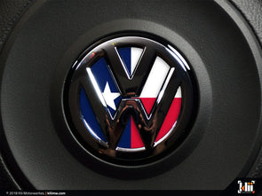 Klii Motorwerkes VW Steering Wheel Badge Insert - Texas Flag