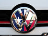 VW Front Badge Insert - Texas Flag