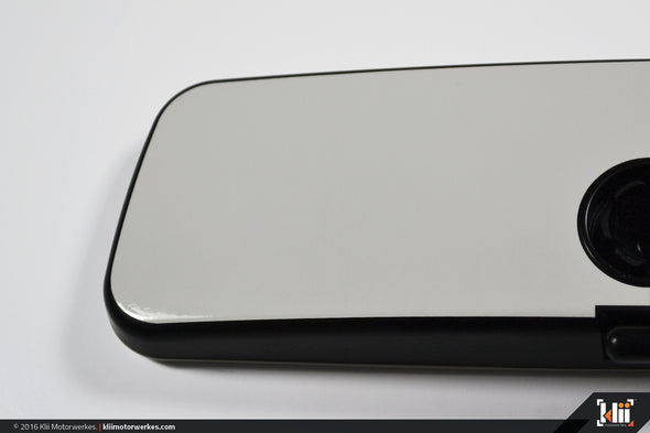 VW Rear View Mirror Overlay - Candy White